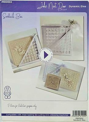 John Next Door Sandwich Box Dynamic Cutting Dies by John Lockwood JNDGD002