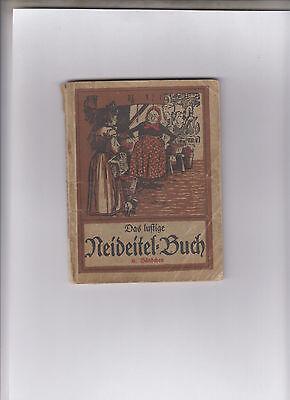 Lustige Neideitel-Buch (Heft) humoristische Geschichten Original 1923