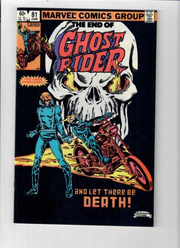 GHOST RIDER #81 (Vol. 1) - Grade 9.2 - FINAL ISSUE!