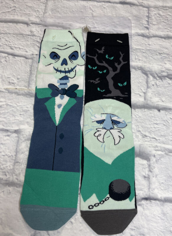 Disney Parks Haunted Mansion Socks Hitchhiking Ghosts Gus Ezra Phineas New