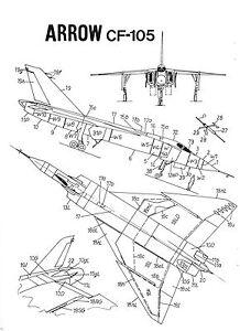 Avro Arrow Vector Set