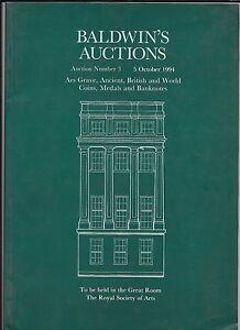 Baldwin-039-s-AES-tumba-Antiguas-britanicos-y-mundo-monedas-billetes-catalogo-1994