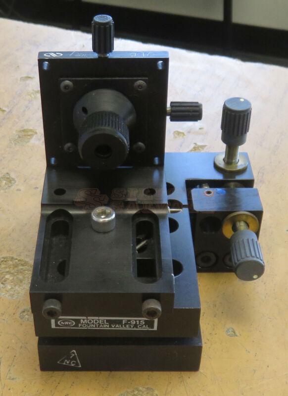 Newport F-915 Single-Mode Fiber Coupler