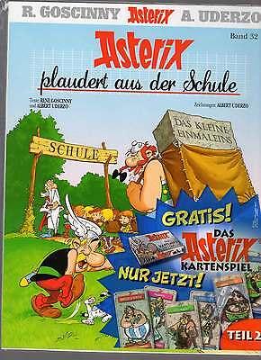 Asterix komplett - 36 Bände - Alle noch originalverpackt, ungelesen