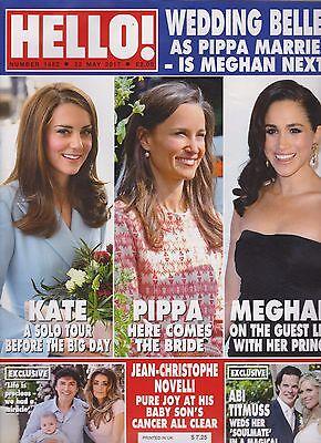 Hello Magazine  1482 May 2017  Kate Middleton  Meghan Markle  Pippa Middleton