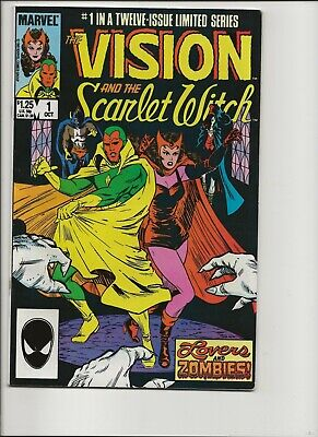 Vision And The Scarlet Witch 1-12 (1985) - 1st Appearance Of Speed & Wiccan