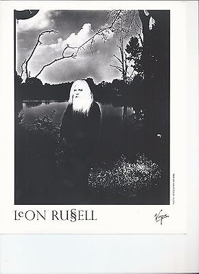 8 x 10 Glossy Photo Leon Russell {170}-