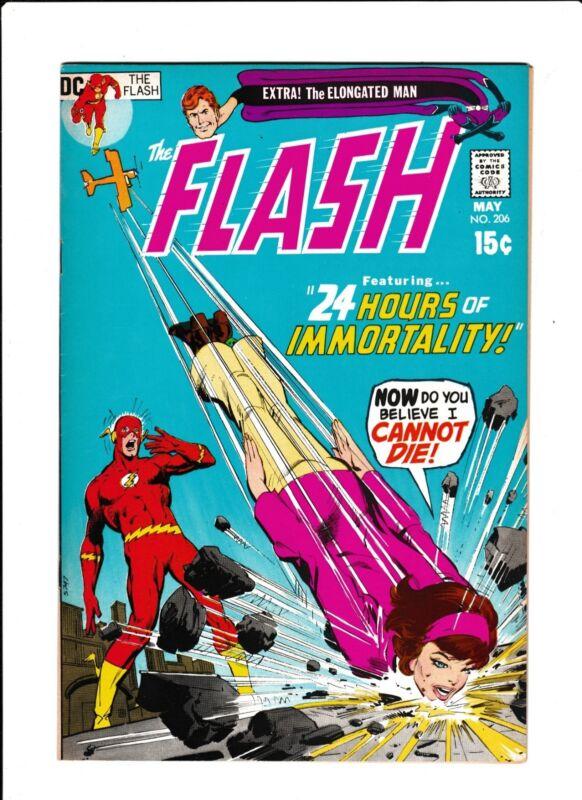 Flash No.206  : 1971 :   : Neal Adams Cover! :