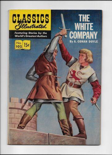 Classics Illustrated #102 The White Company HRN 101 (O) VF beauty