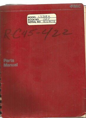 Link Belt Model Ls 108b Crawler Crane Parts Manual