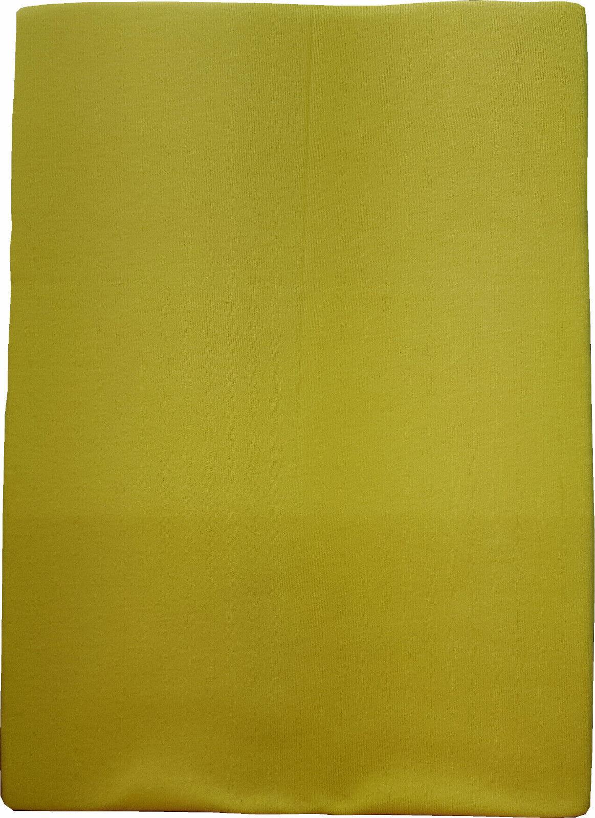 Massageliegen-Spannbezug (zitrone) 80 x 195 cm,  100% BW