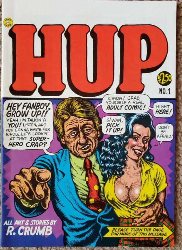 HUP #1 (1987) Crumb 1st Print FINE Free Shipping!