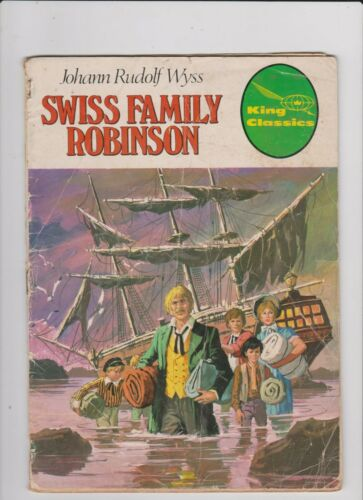 SWISS FAMILY ROBINSON  1977 KING CLASSICS FR/GD LOW GRADE READER COMIC