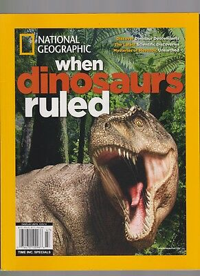 National Geographic Magazine When Dinosaurs Ruled December 2014