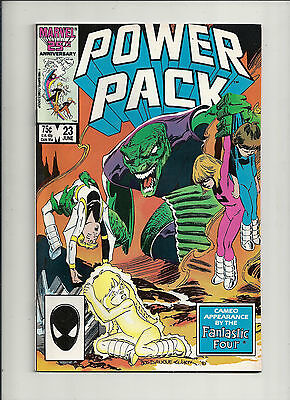 Power Pack  #23  NM   Fantastic Four