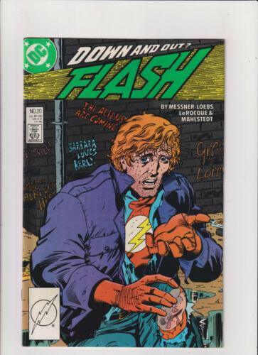 Flash #20 VF+ 8.5 DC Comics 1988 Copper Age