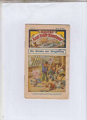 Kapitän Axel Holm´s Abenteuer Nr. 2 schöner Zustand Original 1919