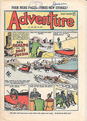 Adventure 1339 (Sept 16, 1950) very high grade copy