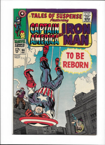 """TALES OF SUSPENSE #96  [1967 VF+]  """"TO BE REBORN"""""""