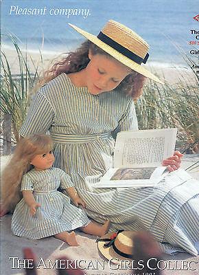1993 RETIRED PLEASANT COMPANY CATALOG! KIRSTEN COVER! MOLLY~FELICITY~SAMANTHA
