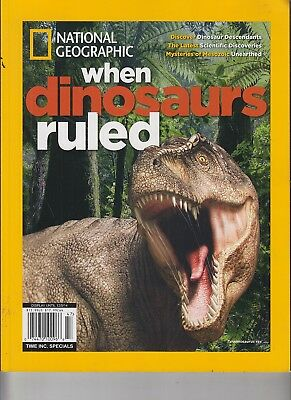 National Geographic When Dinosaurs Ruled 2014 Scientific Discoveries