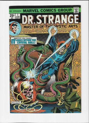 Dr. Strange #1 (June 1974, Marvel) NM- (9.2) Signed by Frank Brunner !!!!!!!!!!!