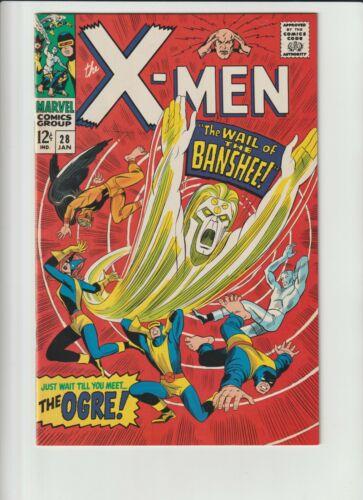 X-Men #28 NM Very Rare! 1994 1st app Banshee! Second Printing.