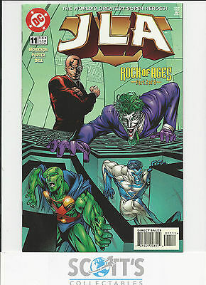 JLA   #11     NM-  (1996 Series)