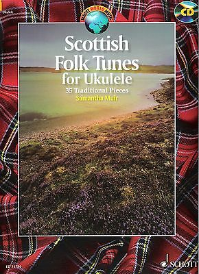 Scottish Folk Tunes for Ukulele  (+ CD)