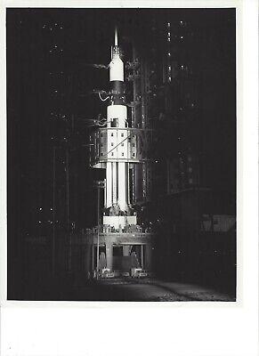 "NASA ORIGINAL PAD 34 ""A PARTIAL HISTORY"" (6) 8"" X 10"" B & W PHOTO's"