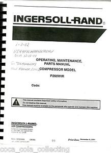 ingersoll rand parts manual Ingersoll Rand 2475 Parts Manual 3016 Ingersoll Rand Tractor Parts