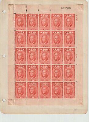 25 Roosevelt Caribbean Unused Stamps