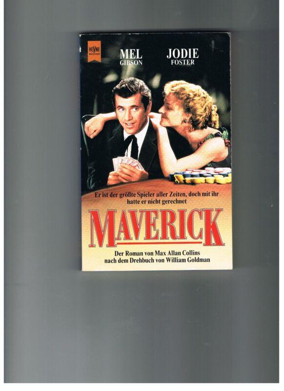 """""""Maverickt"""", Taschenbuch-Roman von Max Allan Collins"""