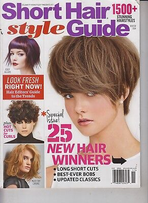 Short Hair Style Guide Winter 2014 Long Short Cuts/Best-Ever Bobs/Stunning
