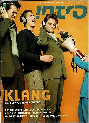 INTRO Musikmagazin  71  / 02/2002 (Motorpsycho, Smashing Pumpkins, Henry Rollins](Psycho Pumpkin)