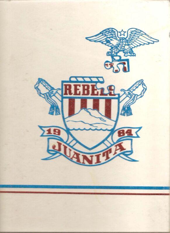 Juanita High School Yearbook 1984 Kirkland, WA (Retrospect)