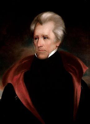 President Andrew Jackson Photo Official Portrait Art Print 7Th Us President