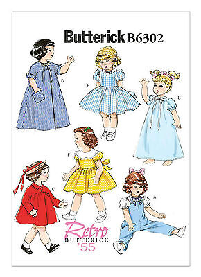 Butterick B6302 Retro '55 PATTERN Retro Outfits for 18