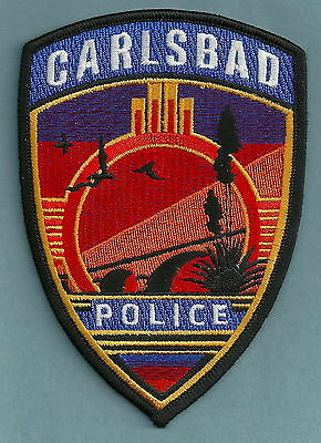 CARLSBAD NEW MEXICO POLICE PATCH