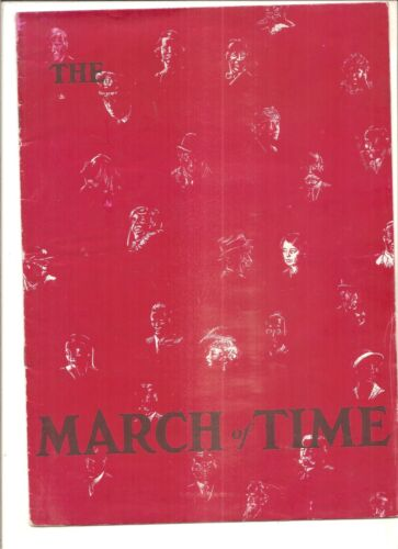 1933 Time Magazine March of Time, special printing for Chicago World
