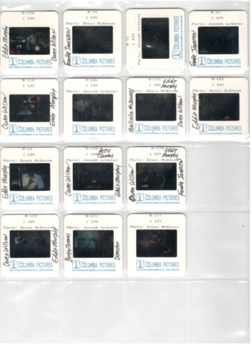 I SPY 14 PRESS 35mm SLIDES EDDIE MURPHY OWEN WILSON FRANKE JANSSEN