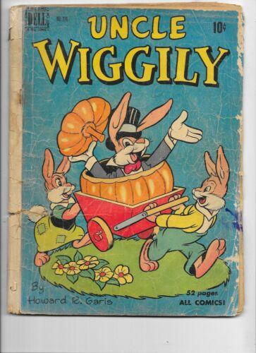 Uncle Wiggily  4 color #276