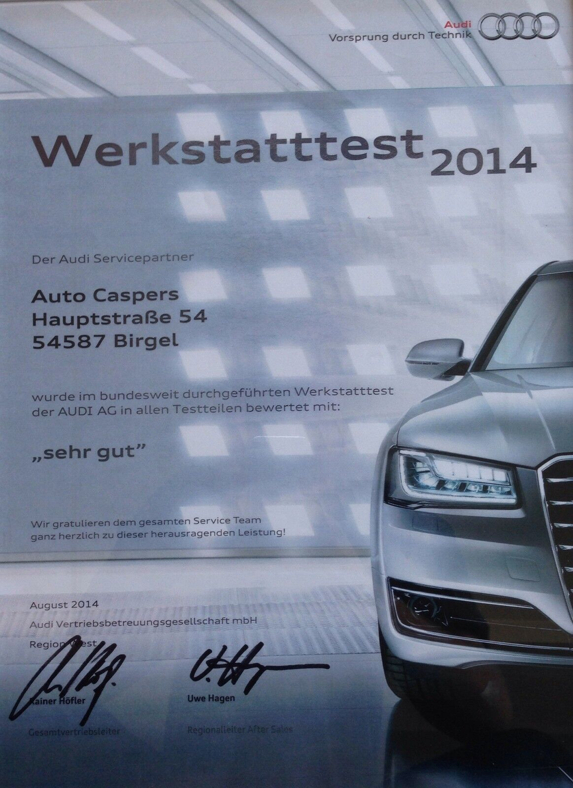 Auto Caspers Inh Theo Klünter