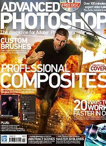 ADVANCED PHOTOSHOP #119 Professional Composites + Creative Collection CD @NEW@