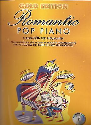 Klavier Noten - ROMANTIC POP PIANO - 33 Traummelodien in leichten Arrangements