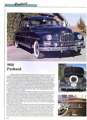 1950 55 1957 Packard Mayfair Patrician Caribbean Clipper 400 Executive 20 pages for sale  Shipping to Canada
