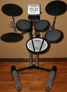Roland V-Drums Lite HD-3 & Pearl Double Braced Drum Throne