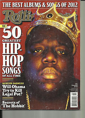 ROLIING STONE, ( THE BEST ALBUMS & SONGS OF 2012 )THE 50 GREATEST HIP  HOP (Best Hip Hop Magazine)