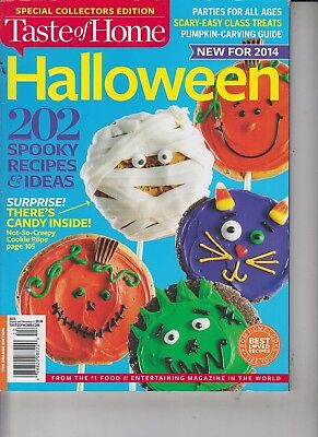 Halloween Treats Ideas Recipes (Taste of Home Special Collector's Edition 2014 Halloween/Recipes &)