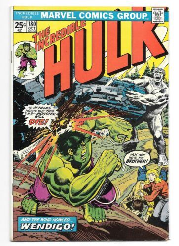 The Incredible Hulk #180 - 1st appearance of Wolverine - MVS Intact